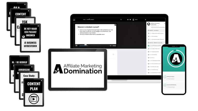 Affiliate Marketing Domination cursus